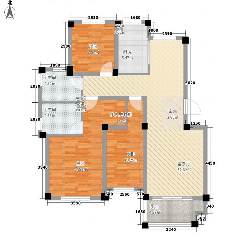 人和国际花园一期A3栋标准层01户型