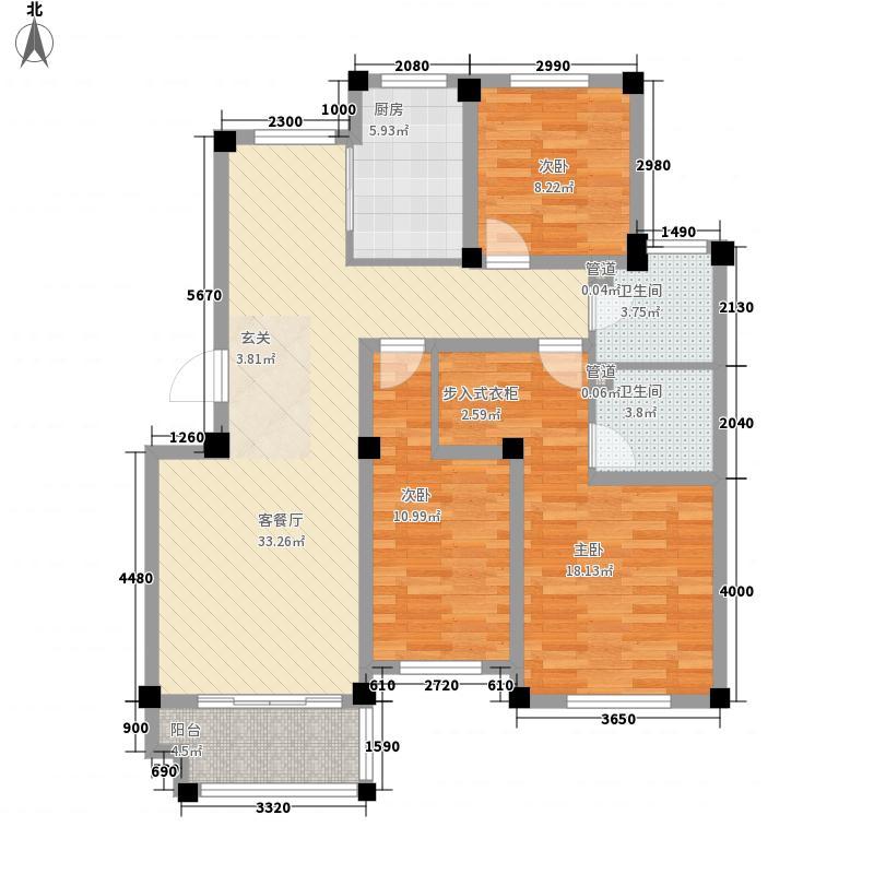 人和国际花园一期A3栋标准层02户型