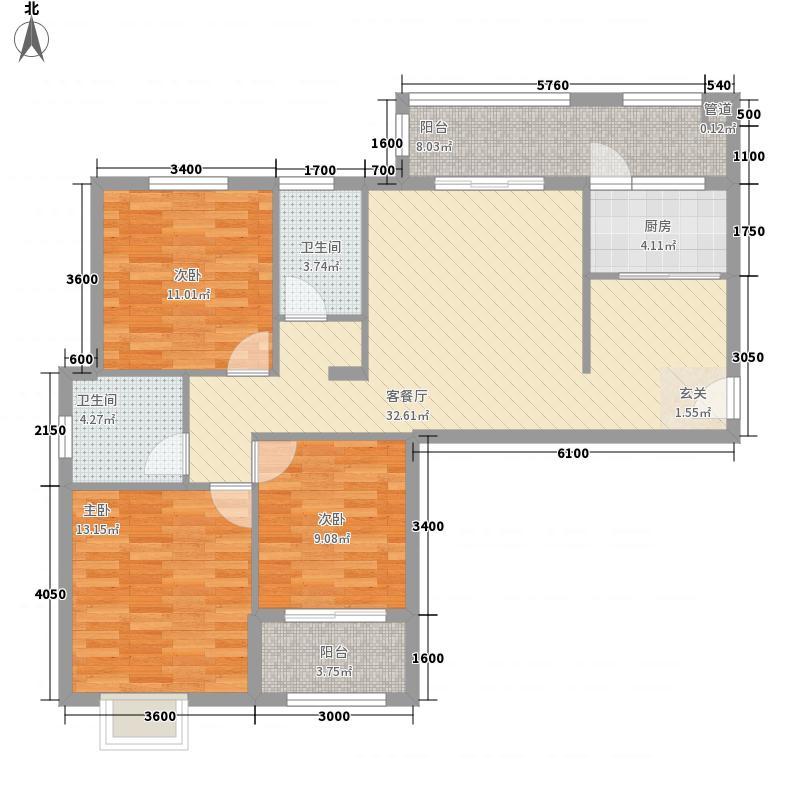 汇侨城2#、3#楼A-A1户型