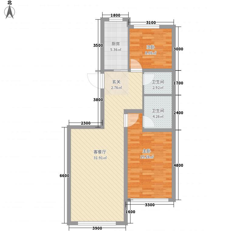中广宜景湾1号楼B1/B2户型