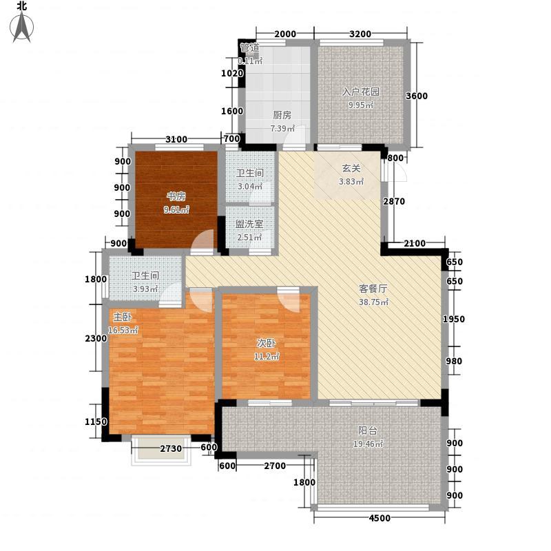 商品交易博览城4MO1242310929户型2室2厅2卫1厨