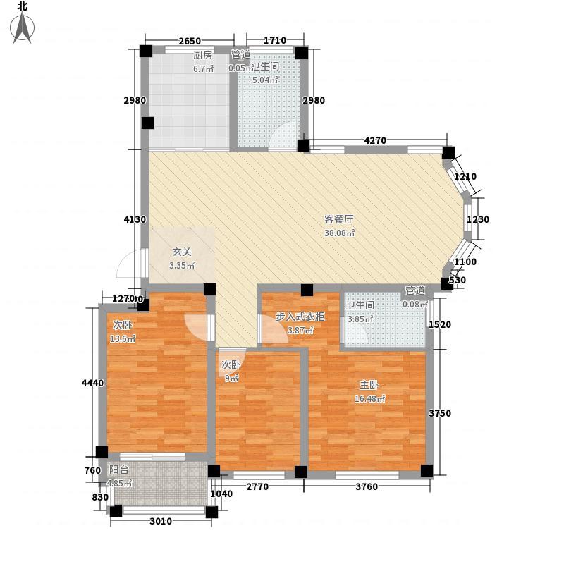 人和国际花园一期A3栋标准层06户型