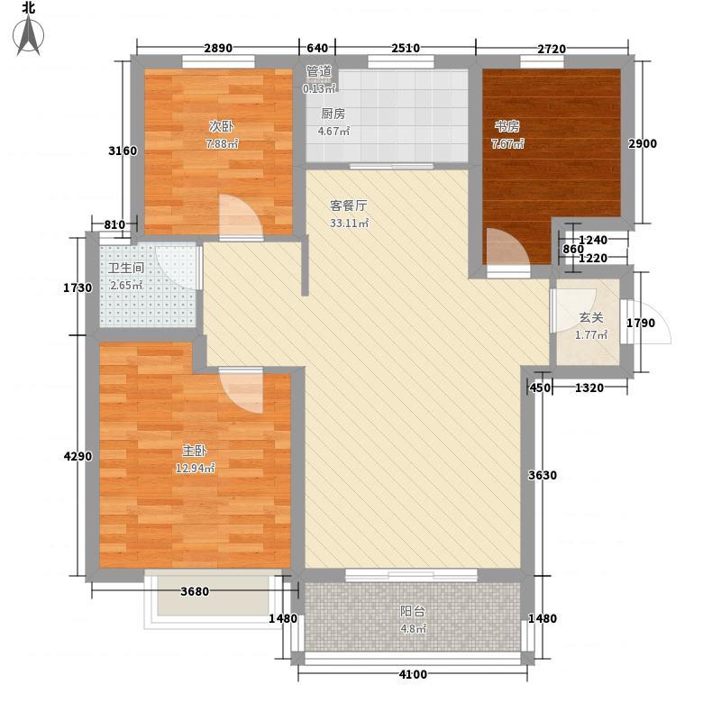 红山万和城户型2室