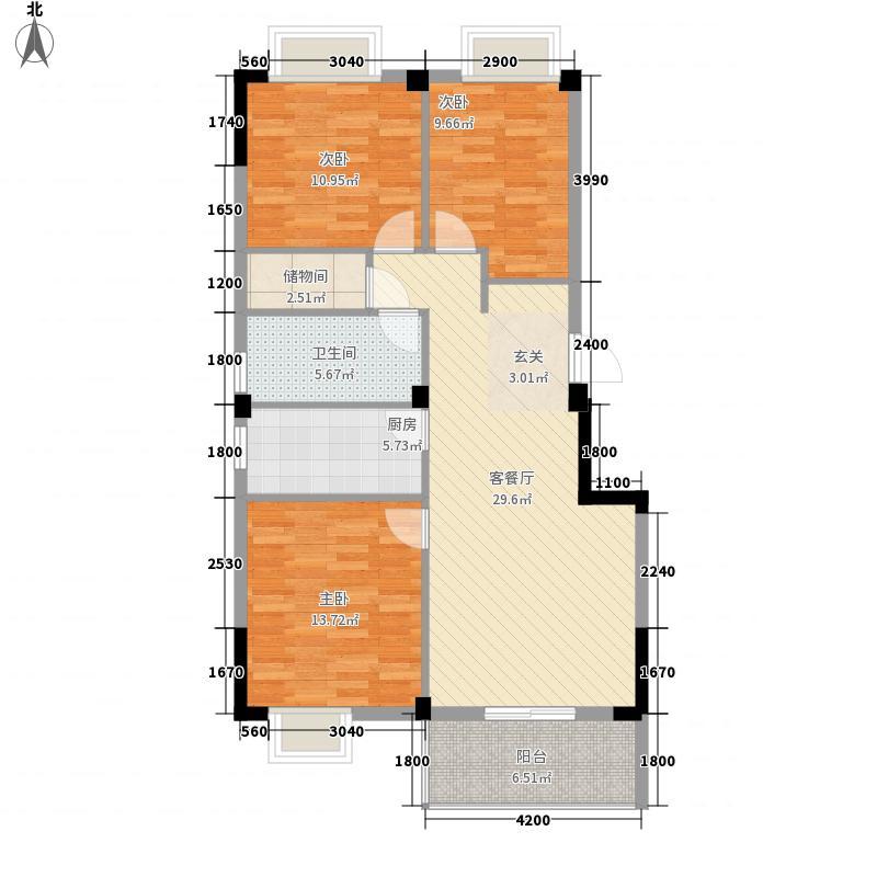 歌林花园三期林语境14.00㎡42-43-45号楼户型