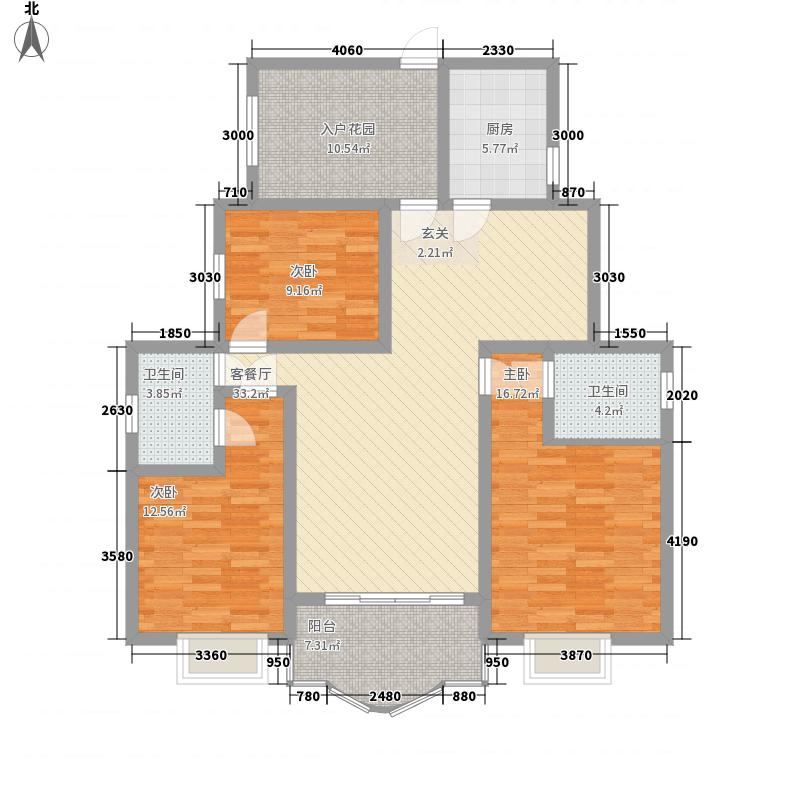 秀流名居123.00㎡秀流名居三室两厅两卫3室2厅2卫123.00㎡户型3室2厅2卫