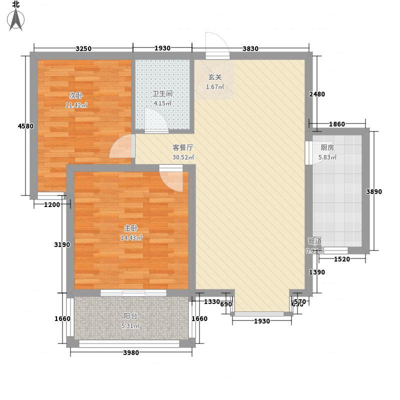 迎西城・建安佳园101.66㎡迎西城・建安佳园户型图G户型2室2厅1卫1厨户型2室2厅1卫1厨
