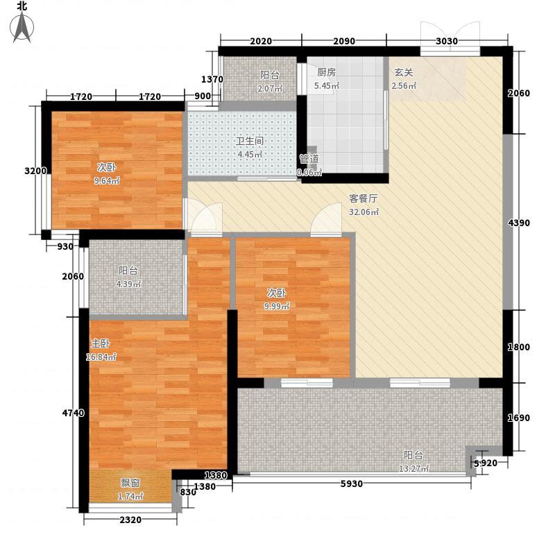 奥林匹克花园三期悦珑湾3栋1单元01、2单元02户型
