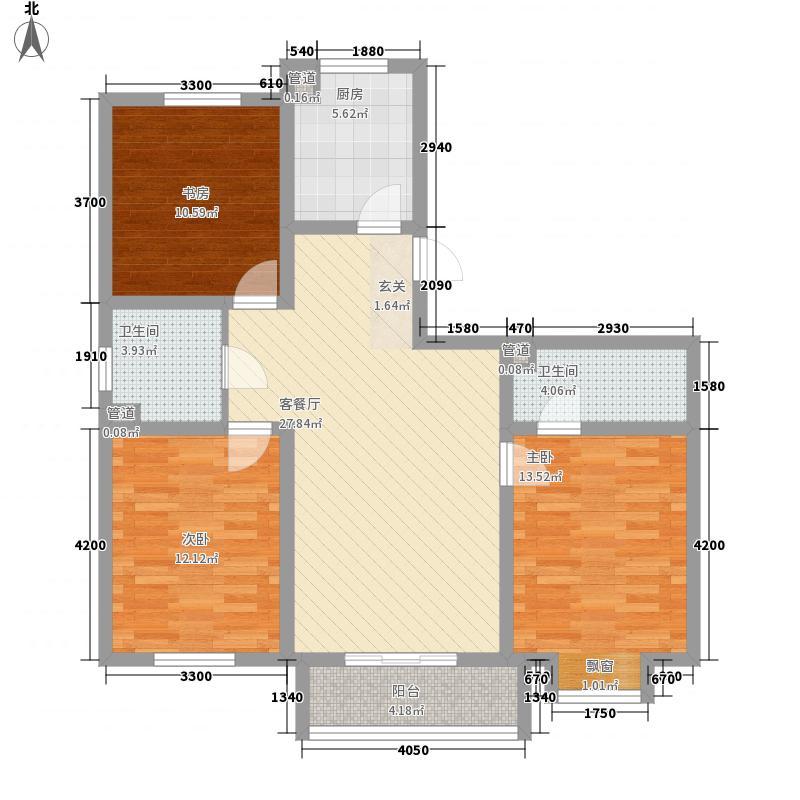 铜新小区5户型3室2厅1卫1厨
