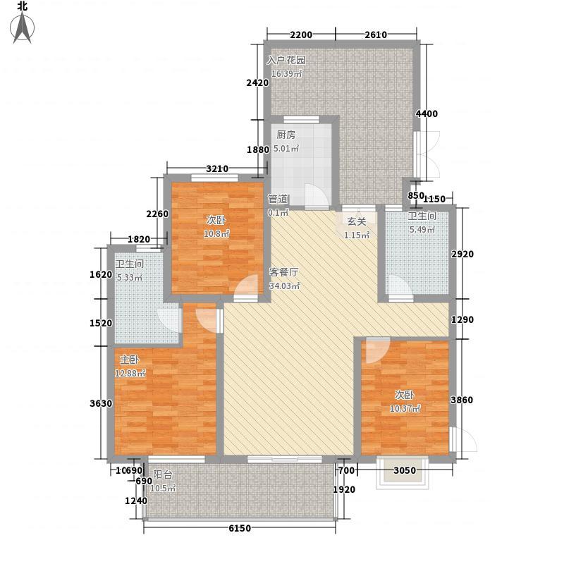 滨湖世纪城139.42㎡滨湖世纪城户型图8区15#16#(21-33层)(售完)3室2厅2卫1厨户型3室2厅2卫1厨