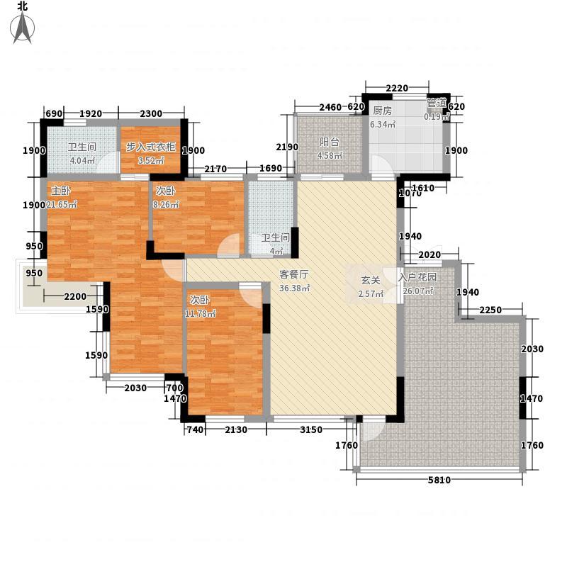 荷兰水乡二期光耀户型3室