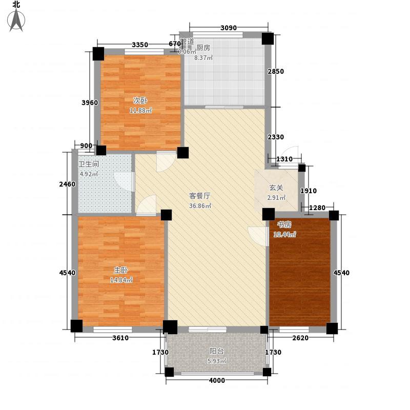 泰林公寓 2室 户型图