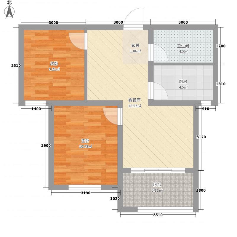 海逸诺丁山1#、2#、4#楼B户型