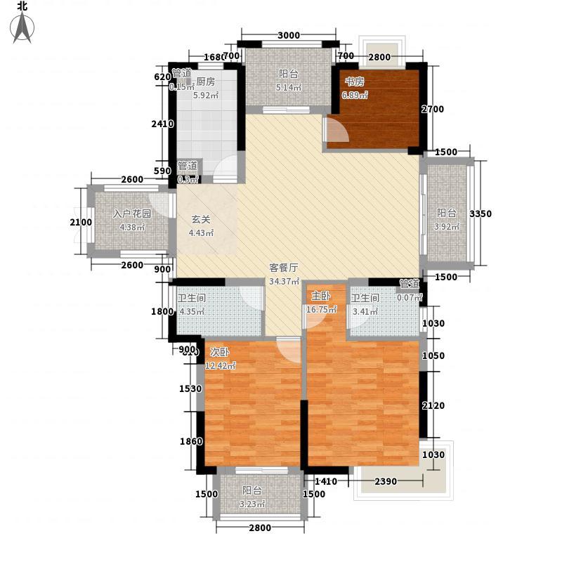 华门新西湖小镇135.00㎡华门新西湖小镇户型图A户型3室2厅2卫1厨户型3室2厅2卫1厨