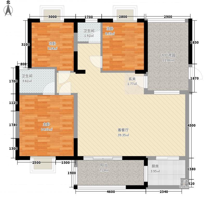 宁宝7.00㎡小区户型2室