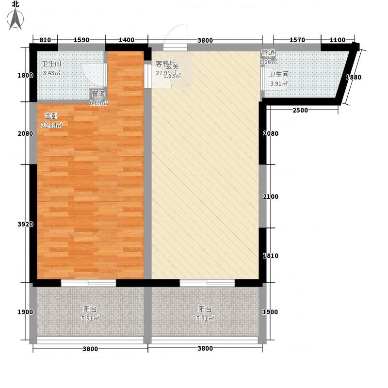 宁宝135.00㎡小区户型3室