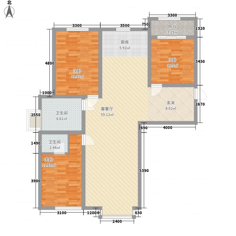 奈伦和兴园奈伦和兴园户型图花3室2厅23室户型3室