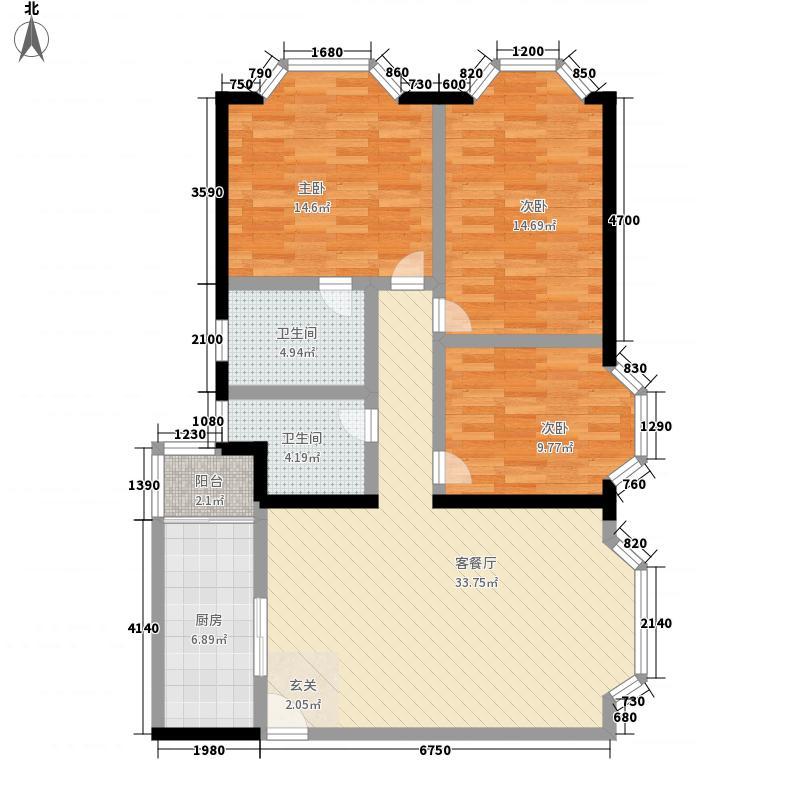 娑罗家园娑罗家园户型图h42室2厅2卫1厨户型2室2厅2卫1厨