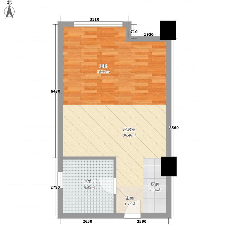 西河苑59.00㎡西河苑户型图1室户型图1室1厅1卫1厨户型1室1厅1卫1厨