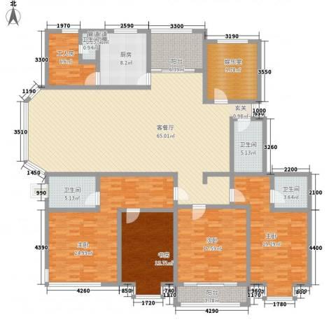 天成苑4室1厅4卫1厨272.00㎡户型图