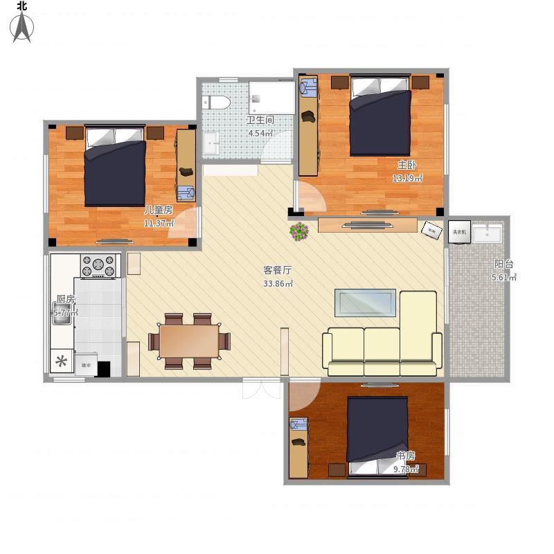 我的设计-2015-08-12陈航盛世豪庭20栋3单元801