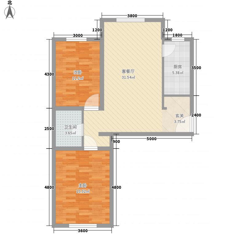邮电长乐小区7户型2室1厅1卫1厨