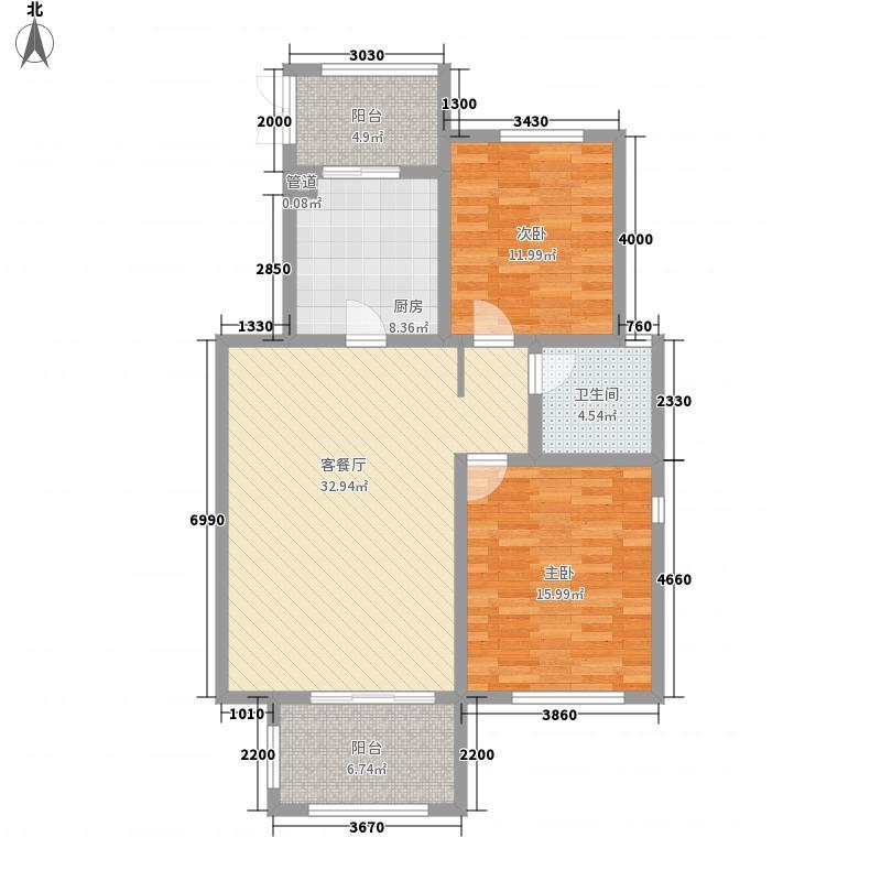 红豆杉养生谷122.00㎡F户型3室2厅1卫1厨