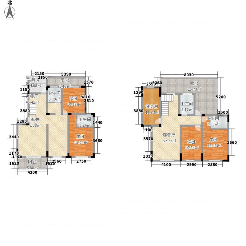 翠岩路27号217.37㎡复式户型5室2厅2卫1厨
