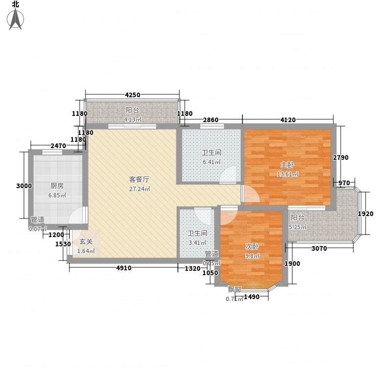 华星公寓华星公寓三室户型10室