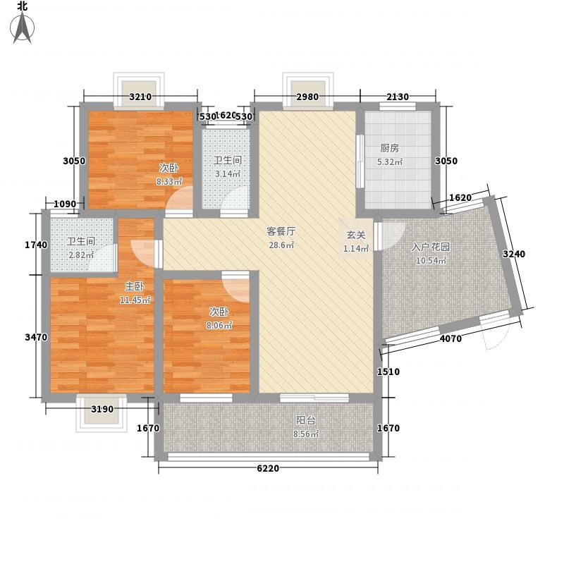 新能源・花样年华126.36㎡新能源・花样年华户型图户型图3室2厅2卫1厨户型3室2厅2卫1厨