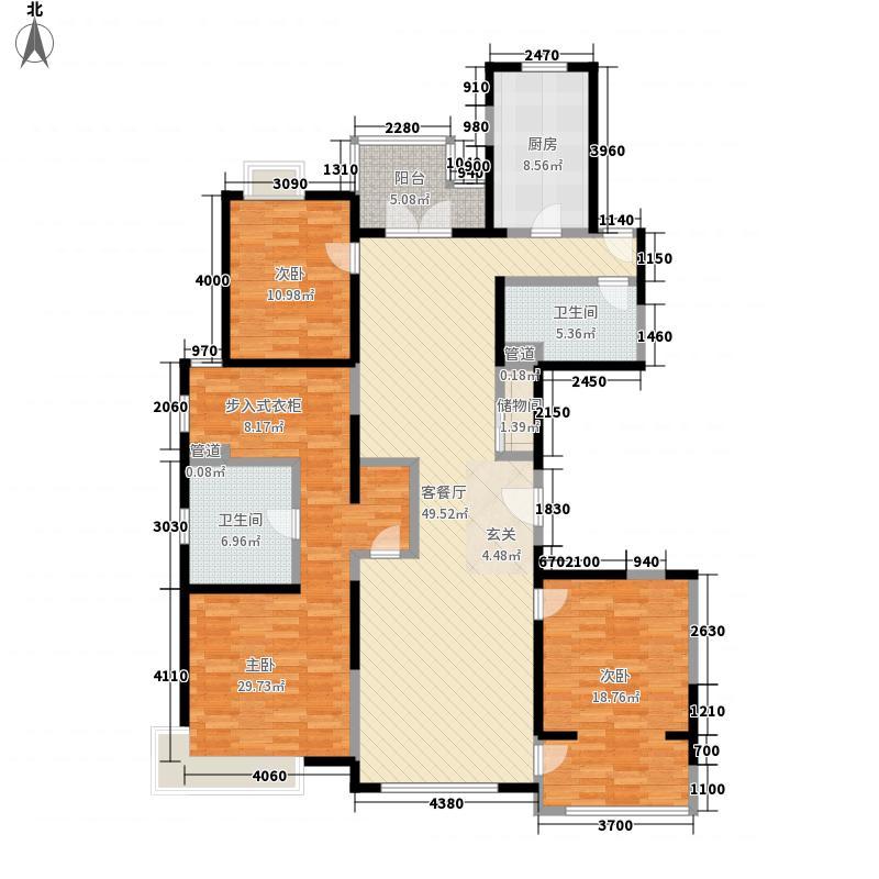 徐汇苑192.06㎡徐汇苑户型图A户型3室2厅2卫户型3室2厅2卫