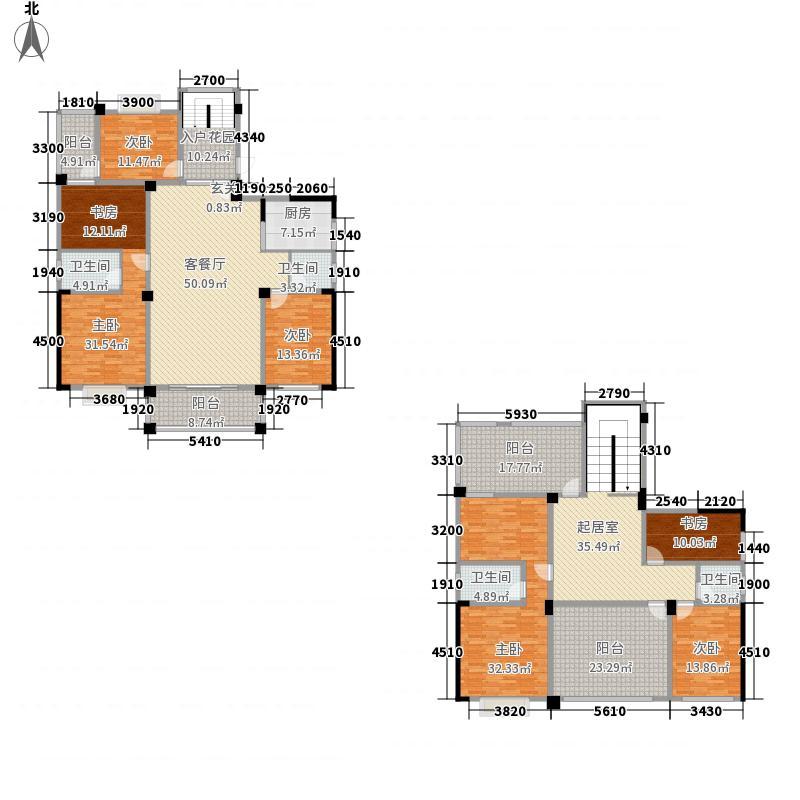 天昌凯悦国际28.80㎡15、17栋Ca2户型8室3厅4卫1厨