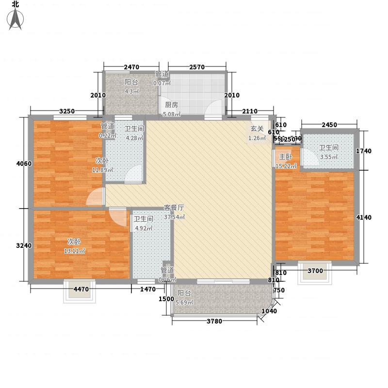 龙泉都市华庭176.00㎡龙泉都市华庭3室户型3室