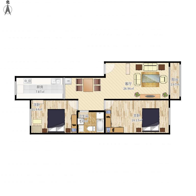 延边-阿里郎花园-设计方案