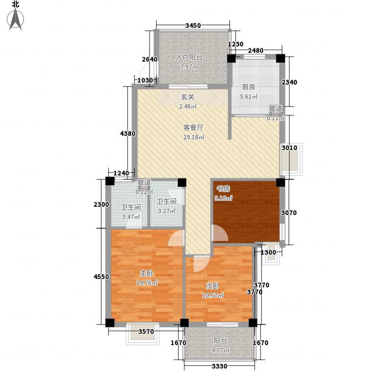 水印长天水印长天户型图3室2厅2卫1厨户型10室