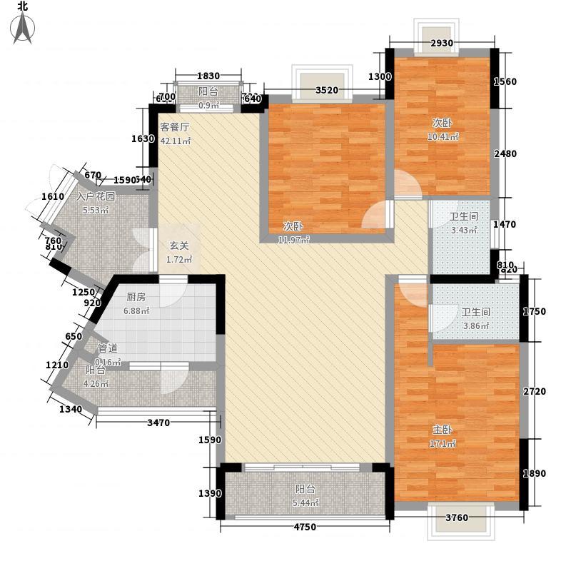 凰樵假日凰樵假日户型图户型单张-7座2号楼标准层03-04单位_副本户型10室
