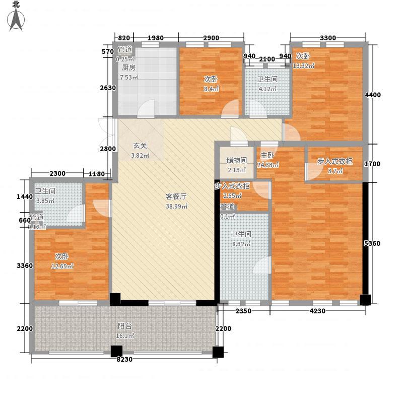 新湖武林国际公寓2号楼户型