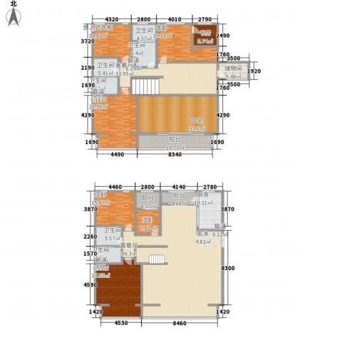 九合国际6室2厅6卫1厨454.00㎡户型图