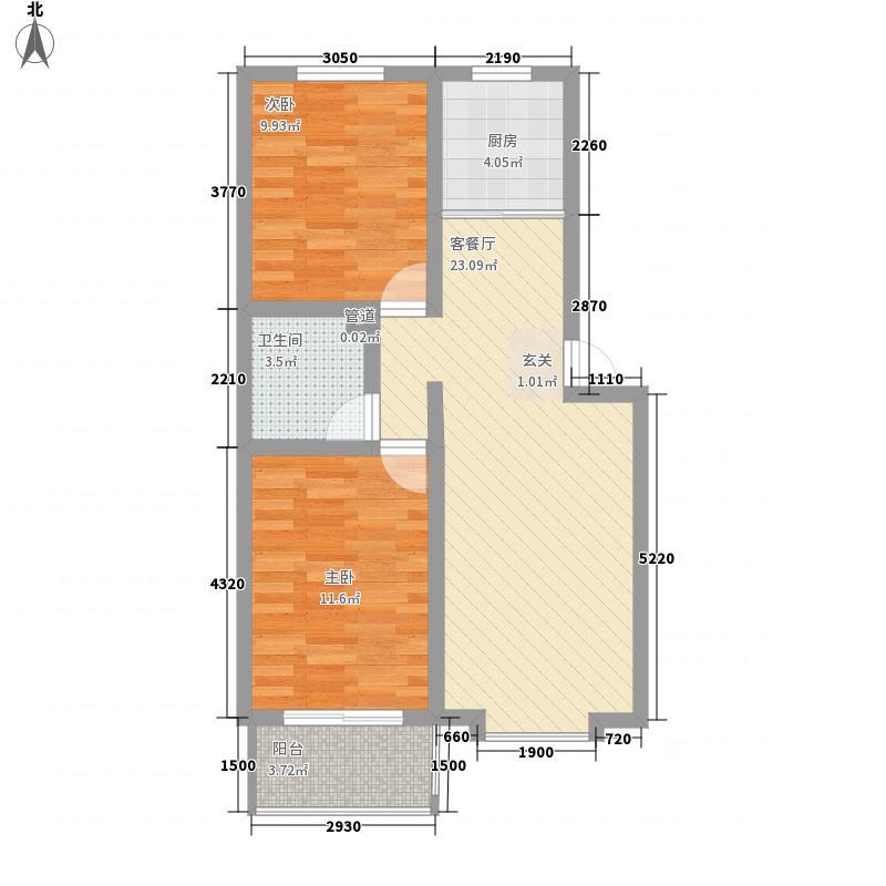 二十埠恢复楼81.00㎡二十埠恢复楼3室户型3室