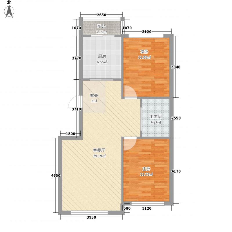 站塘新村户型2室