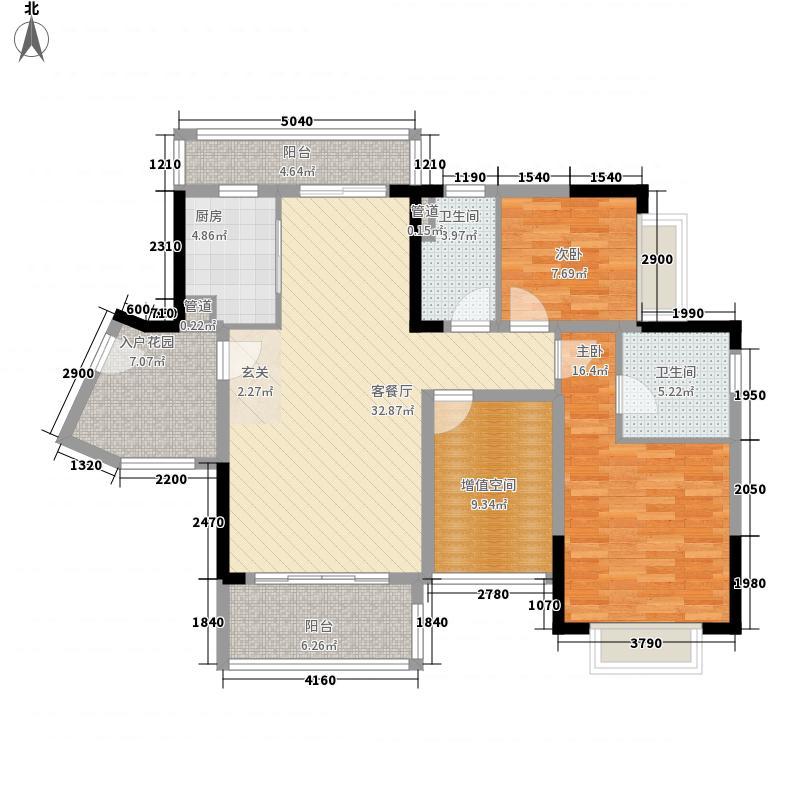 保利城二期106.00㎡保利城二期户型图2期海德A、C栋-03单元B、D栋-05单元3室2厅2卫1厨户型3室2厅2卫1厨