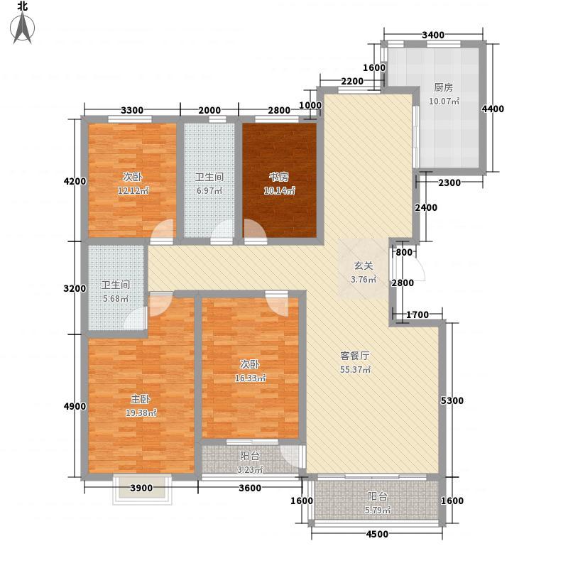 兴隆小区1户型4室
