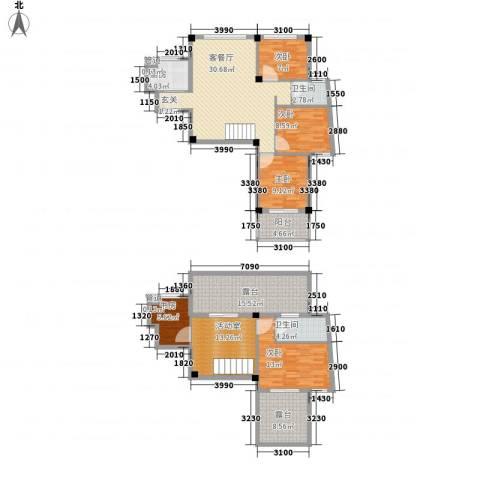 柏顿公馆5室1厅2卫1厨181.00㎡户型图