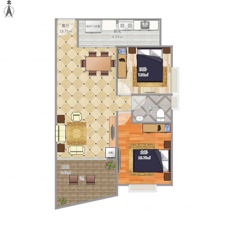 深圳-鹤州豪庭-设计方案