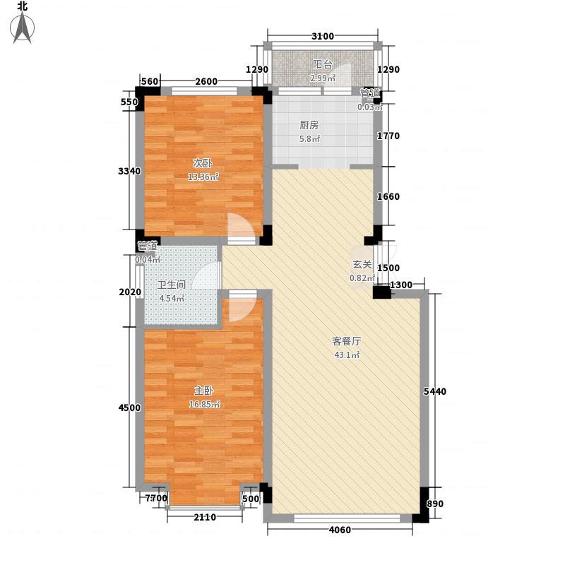 怡众名城100.16㎡怡众名城户型图x户型图2室2厅1卫户型2室2厅1卫