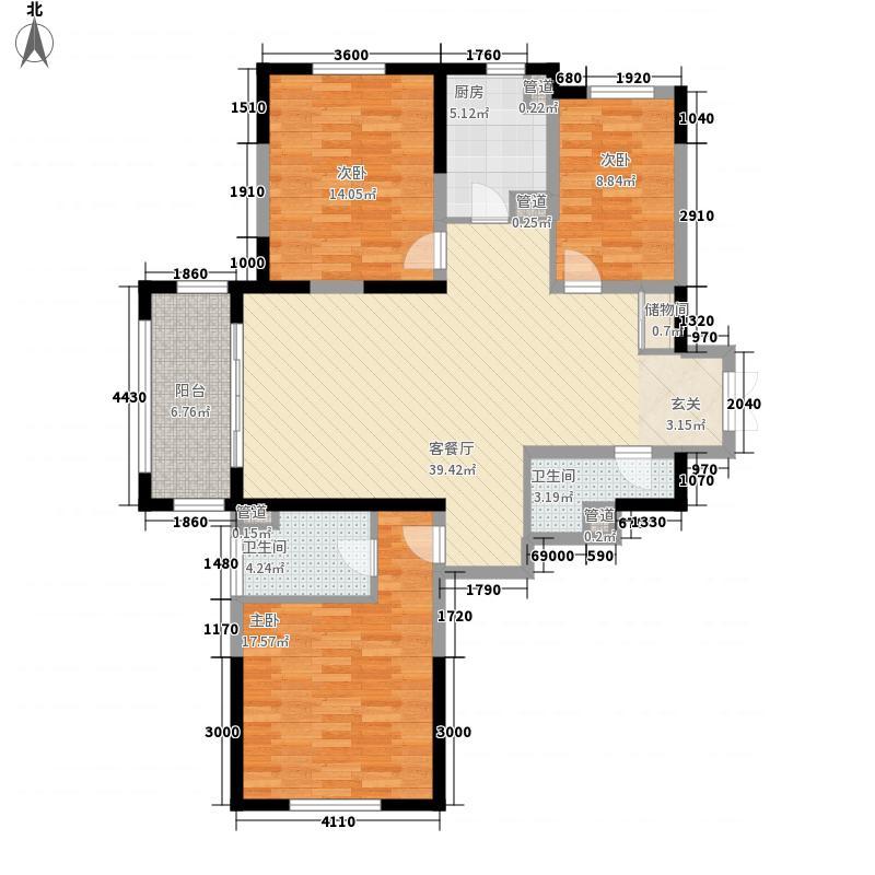 尚海湾豪庭二期6号楼A-1户型