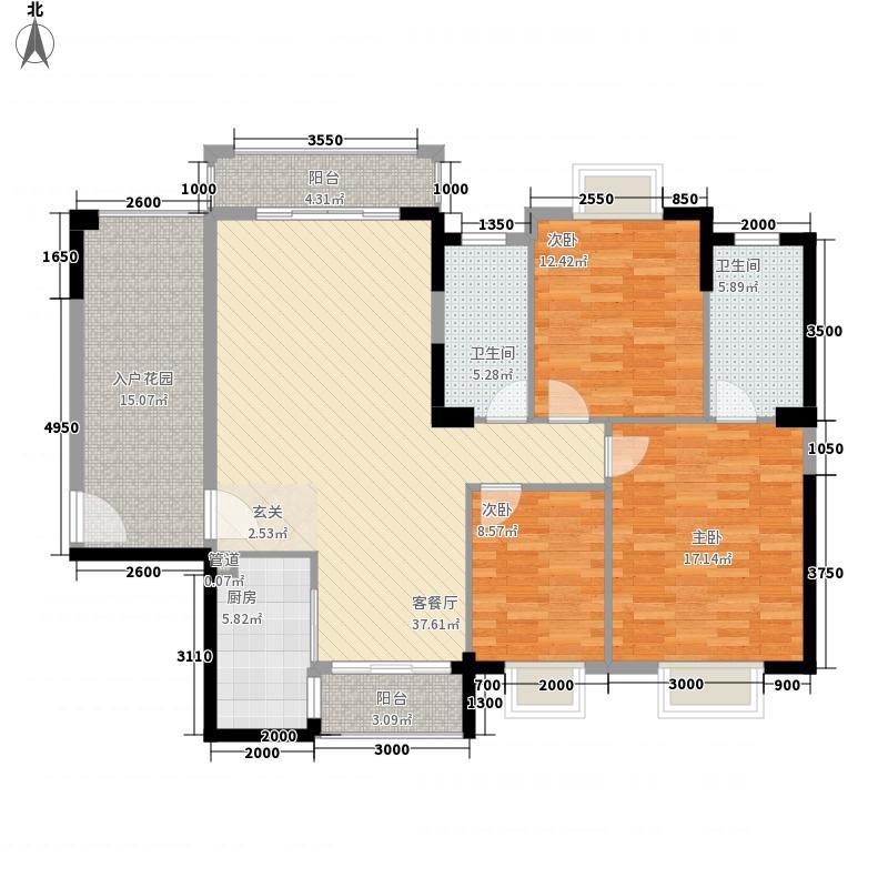 国华湖畔新城175.00㎡户型4室