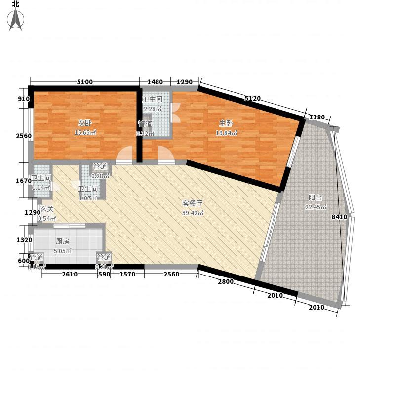 碧桂园十里银滩海景洋房5号楼B1户型