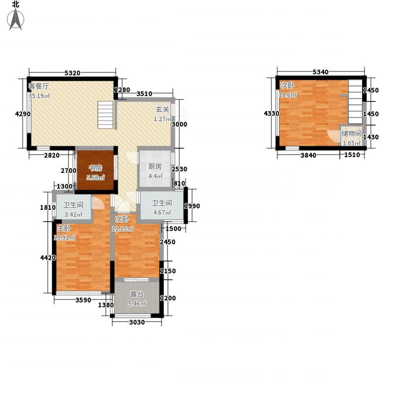 积家B2奇数层户型4室2厅2卫1厨