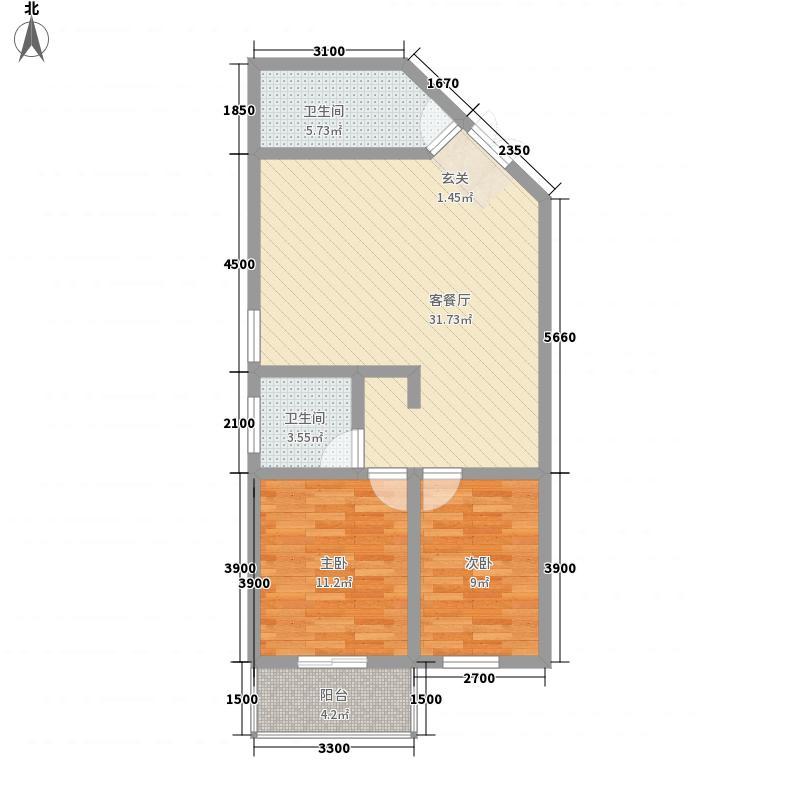 公园大道86.62㎡公园大道户型图B户型2室2厅1卫1厨户型2室2厅1卫1厨