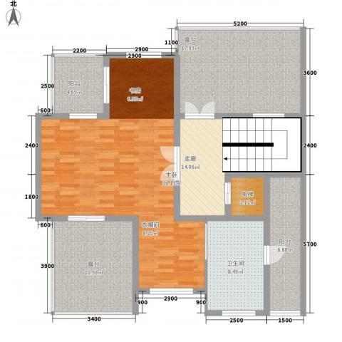森林谷正弘湾1室0厅1卫0厨144.00㎡户型图